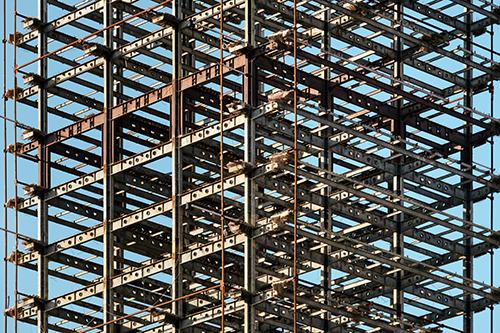 Image of a building frame